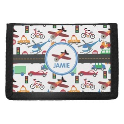Transportation Trifold Wallet (Personalized)