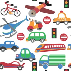 Transportation Wallpaper & Surface Covering