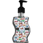Transportation Wave Bottle Soap / Lotion Dispenser (Personalized)