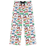 Transportation Womens Pajama Pants (Personalized)