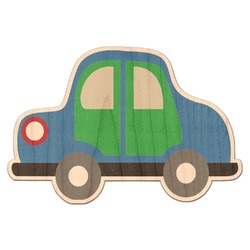 Transportation Genuine Wood Sticker (Personalized)