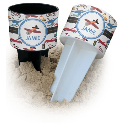 Transportation Beach Spiker Drink Holder (Personalized)