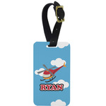 Helicopter Aluminum Luggage Tag (Personalized)