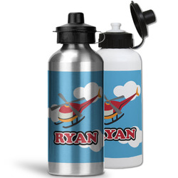 Helicopter Water Bottles- Aluminum (Personalized)