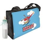 Helicopter Diaper Bag (Personalized)