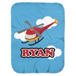 Helicopter Baby Swaddling Blanket (Personalized)