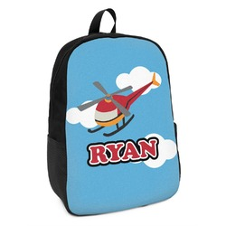 Helicopter Kids Backpack (Personalized)