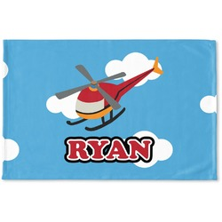 Helicopter Woven Mat (Personalized)