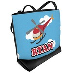 Helicopter Beach Tote Bag (Personalized)