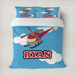 Helicopter Duvet Cover (Personalized)