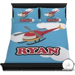 Helicopter Duvet Cover Set (Personalized)