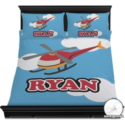 Helicopter Duvet Covers (Personalized)
