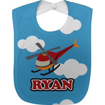 Helicopter Baby Bib (Personalized)