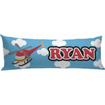 Helicopter Body Pillow Case (Personalized)