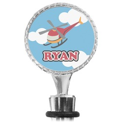 Helicopter Wine Bottle Stopper (Personalized)