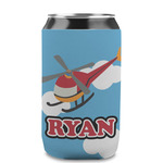 Helicopter Can Sleeve (12 oz) (Personalized)