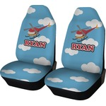 Helicopter Car Seat Covers (Set of Two) (Personalized)