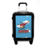 Helicopter Carry On Hard Shell Suitcase (Personalized)