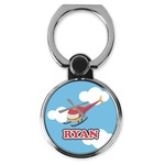Helicopter Cell Phone Ring Stand & Holder (Personalized)