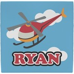Helicopter Ceramic Tile Hot Pad (Personalized)