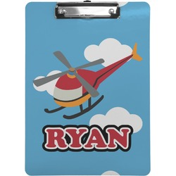 Helicopter Clipboard (Personalized)