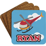 Helicopter Coaster Set (Personalized)