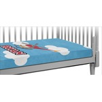 Helicopter Crib Fitted Sheet (Personalized)
