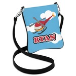 Helicopter Cross Body Bag - 2 Sizes (Personalized)