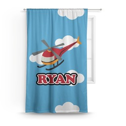 Helicopter Curtain (Personalized)