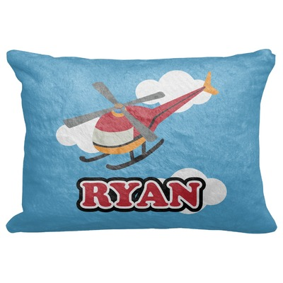 """Helicopter Decorative Baby Pillowcase - 16""""x12"""" (Personalized)"""