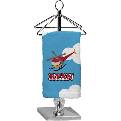 Helicopter Finger Tip Towel - Full Print (Personalized)