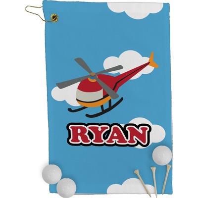 Helicopter Golf Towel - Full Print (Personalized)