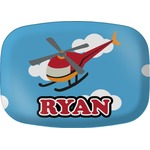Helicopter Melamine Platter (Personalized)