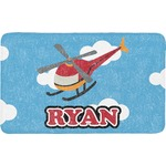 Helicopter Bath Mat (Personalized)