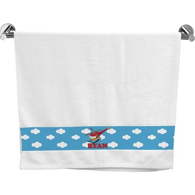Helicopter Bath Towel (Personalized)