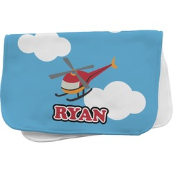 Helicopter Burp Cloth (Personalized)