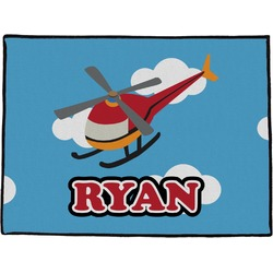 "Helicopter Door Mat - 60""x36"" (Personalized)"