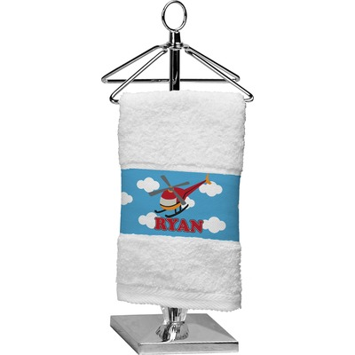 Helicopter Finger Tip Towel (Personalized)
