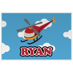 Helicopter Placemat (Laminated) (Personalized)