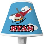 Helicopter Shade Night Light (Personalized)