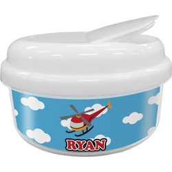 Helicopter Snack Container (Personalized)