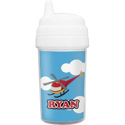 Helicopter Toddler Sippy Cup (Personalized)