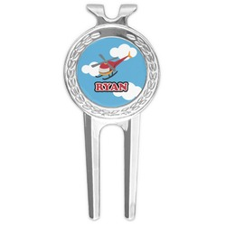 Helicopter Golf Divot Tool & Ball Marker (Personalized)