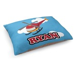 Helicopter Dog Pillow Bed (Personalized)
