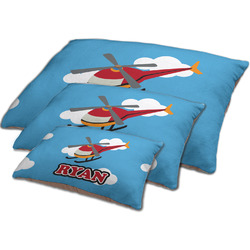 Helicopter Dog Bed w/ Name or Text