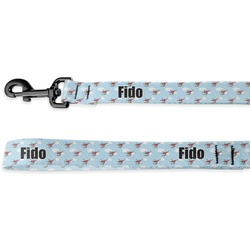 Helicopter Deluxe Dog Leash (Personalized)