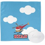 Helicopter Wash Cloth (Personalized)