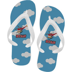 Helicopter Flip Flops (Personalized)