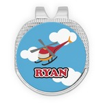Helicopter Golf Ball Marker - Hat Clip