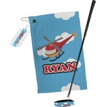 Helicopter Golf Towel Gift Set (Personalized)